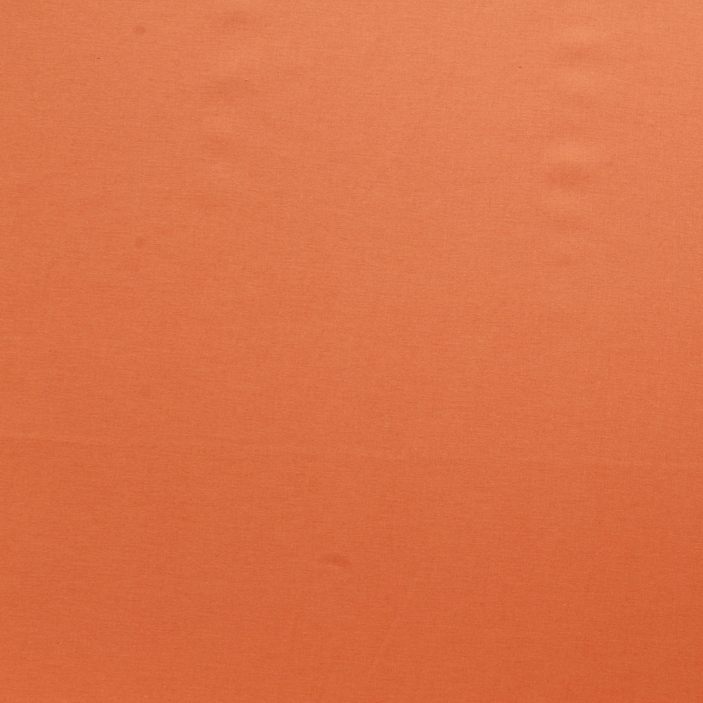 Premium Plain Quilting Cotton, Fabric 112cm Wide Fluorescent Orange (Tangerine)