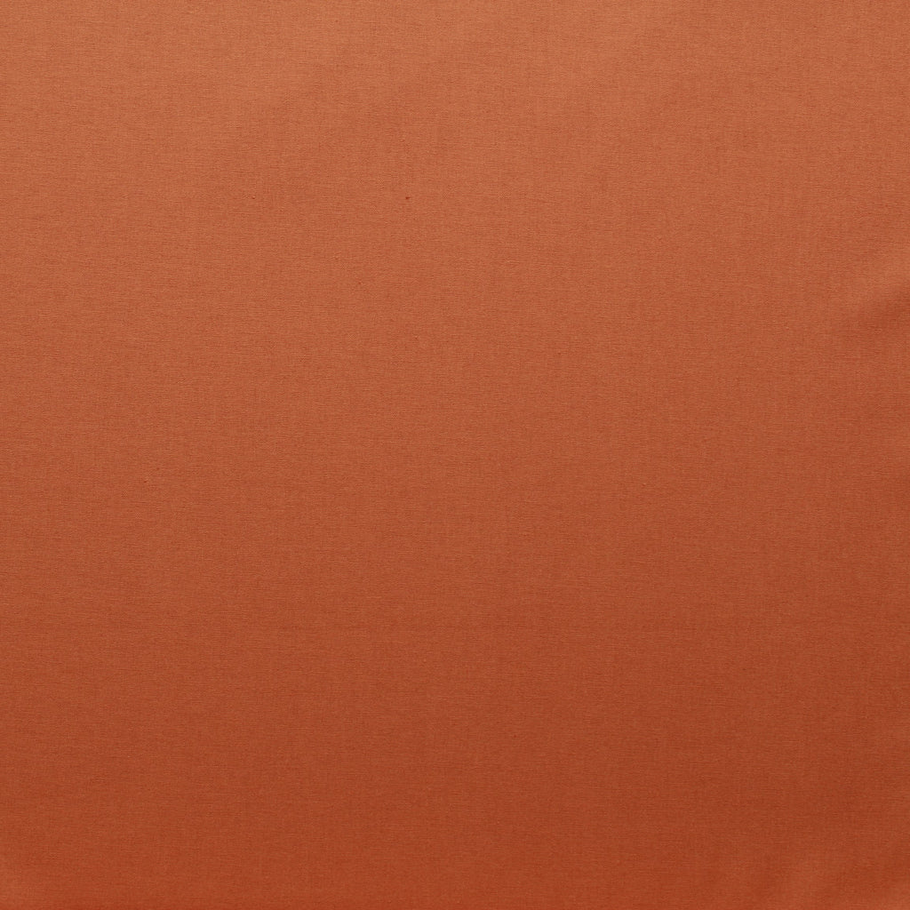 Premium Plain Quilting Cotton, Fabric 112cm Wide Orange (Spice)