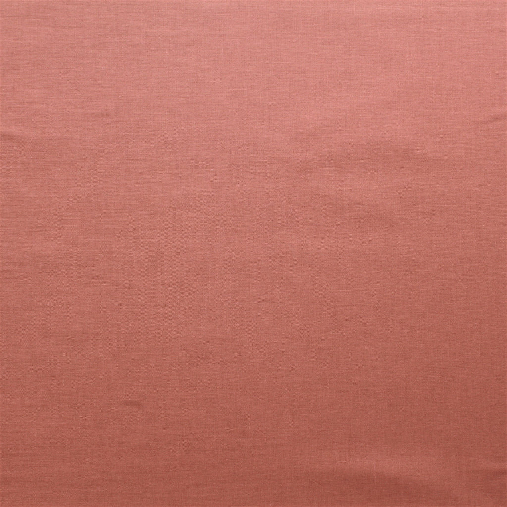 Premium Plain Quilting Cotton, Fabric 112cm Wide Russet
