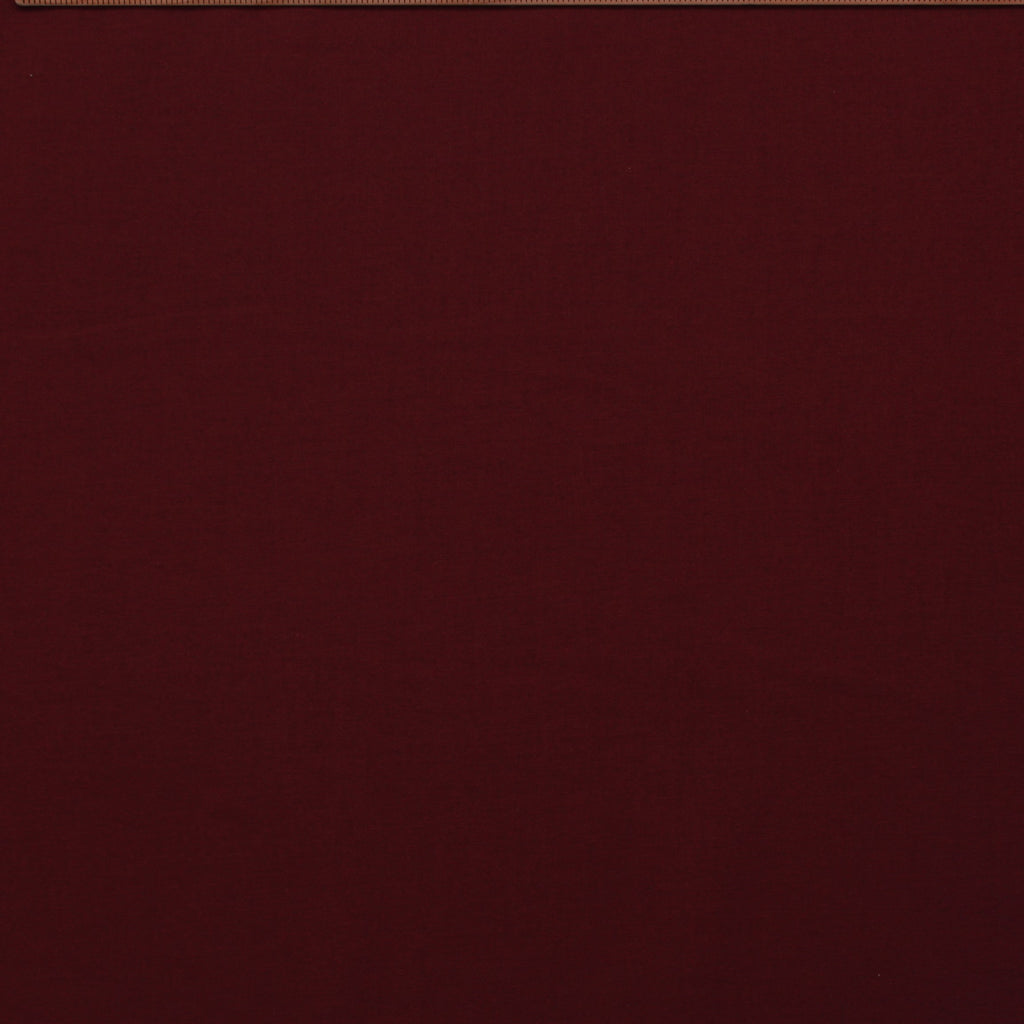 Premium Plain Quilting Cotton, Fabric 112cm Wide Burgundy