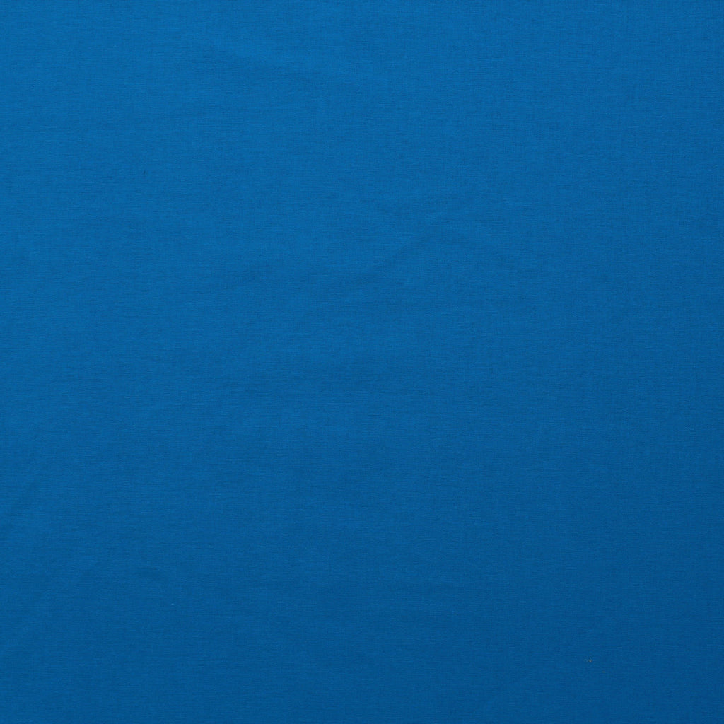 Premium Plain Quilting Cotton, Fabric 112cm Wide Blue (Sea Breeze)
