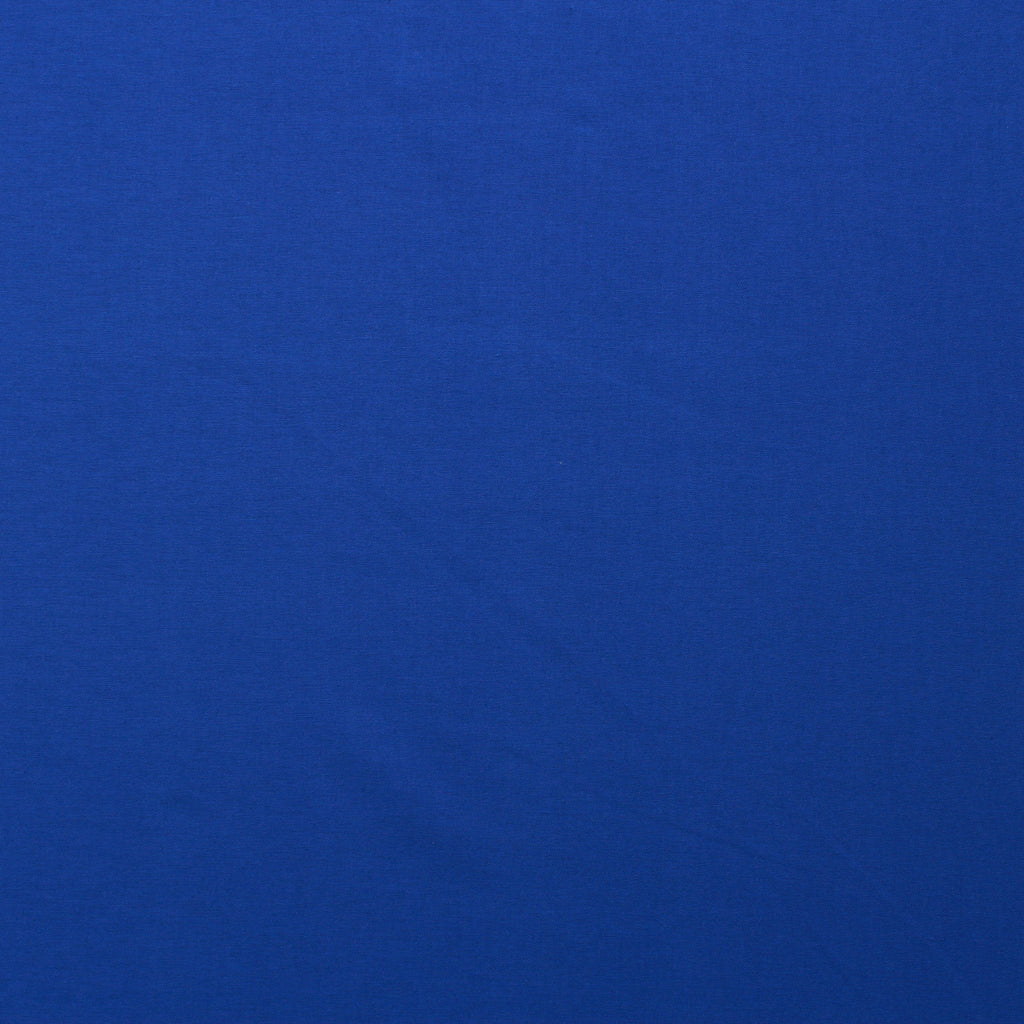 Premium Plain Quilting Cotton, Fabric 112cm Wide Royal (Cobalt)