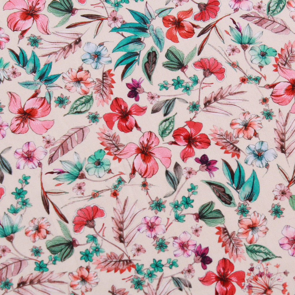 Cotton Poplin Country Floral