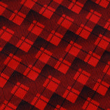 Tartan Checks Red Premium Cotton Poplin