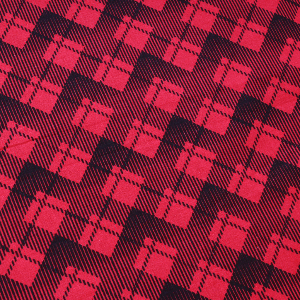 Tartan Checks Pink Premium Cotton Poplin