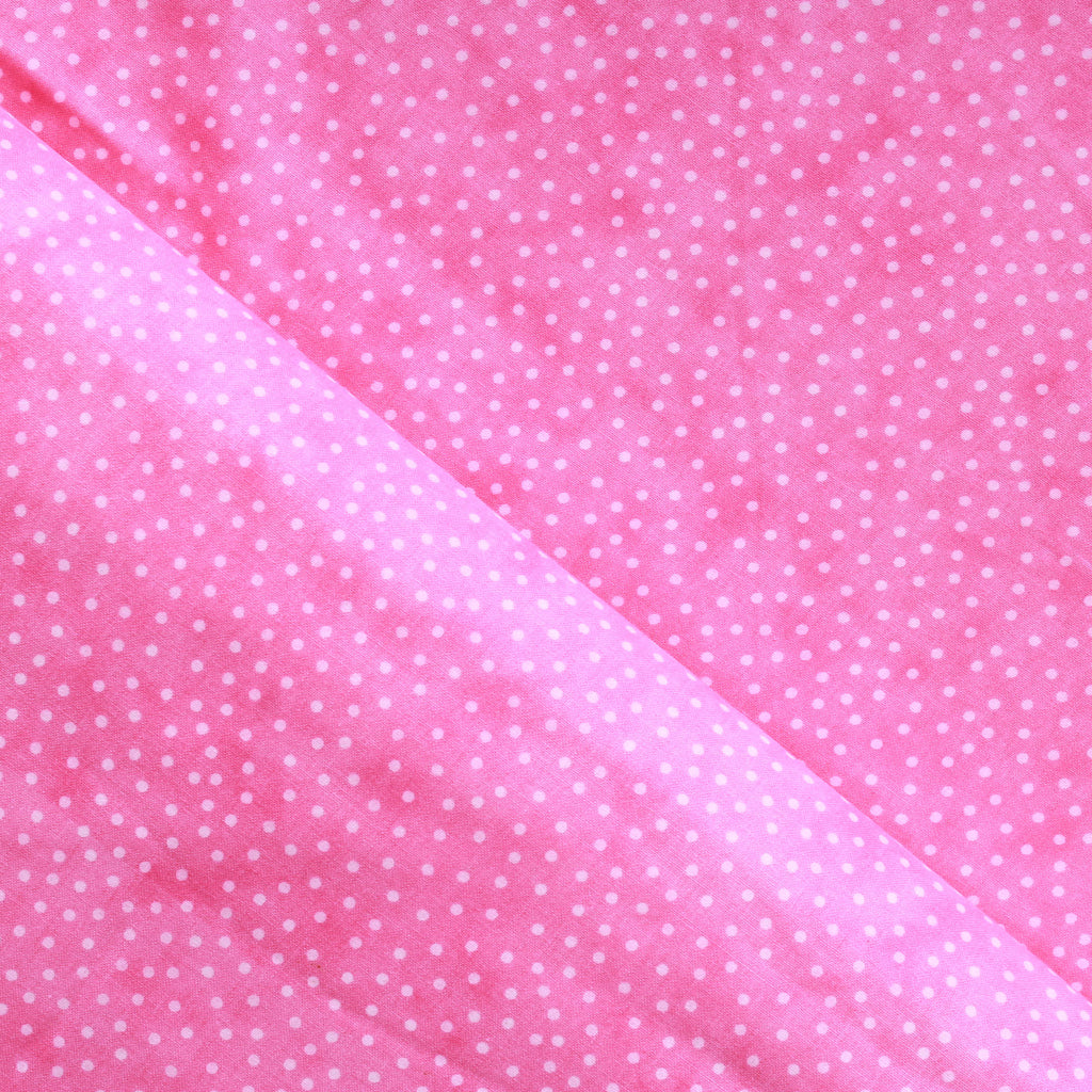 "Hand Printed Batik Style Dots Fabric, Premium 100% Cotton, Approx 44"" (112cm) Wide, 130GSM"