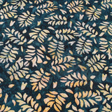 Bali Indonesian Batik, Bottle Banana Leaf Print, 44""