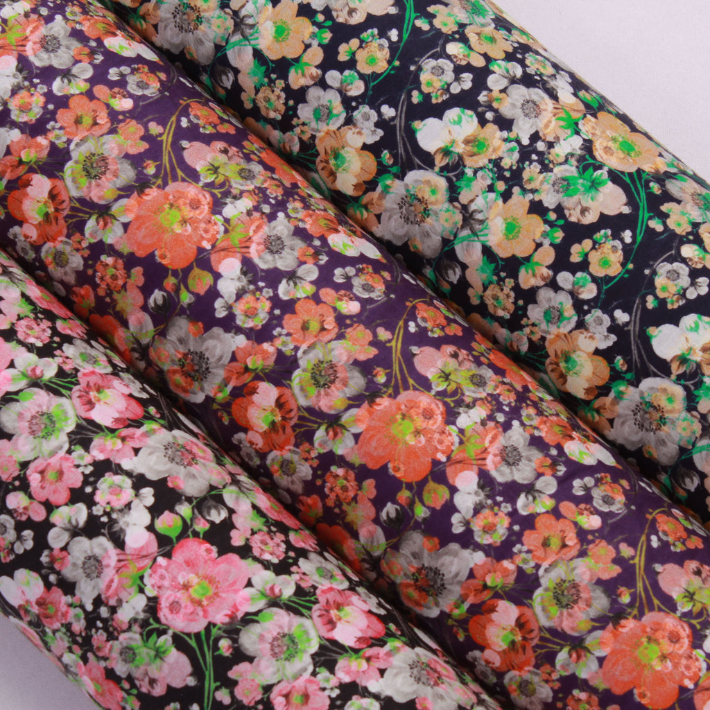 100% Cotton Poplin Blooming Petals