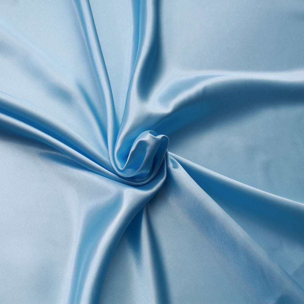 "Premium Super Soft Plain Polyester Satin, 100% Polyester, Approx 60"" (150cm) Wide"