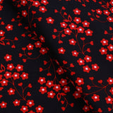 "Daisy Pop Premium Printed Cotton Approx. 44"" (112cm) Wide, 130GSM"