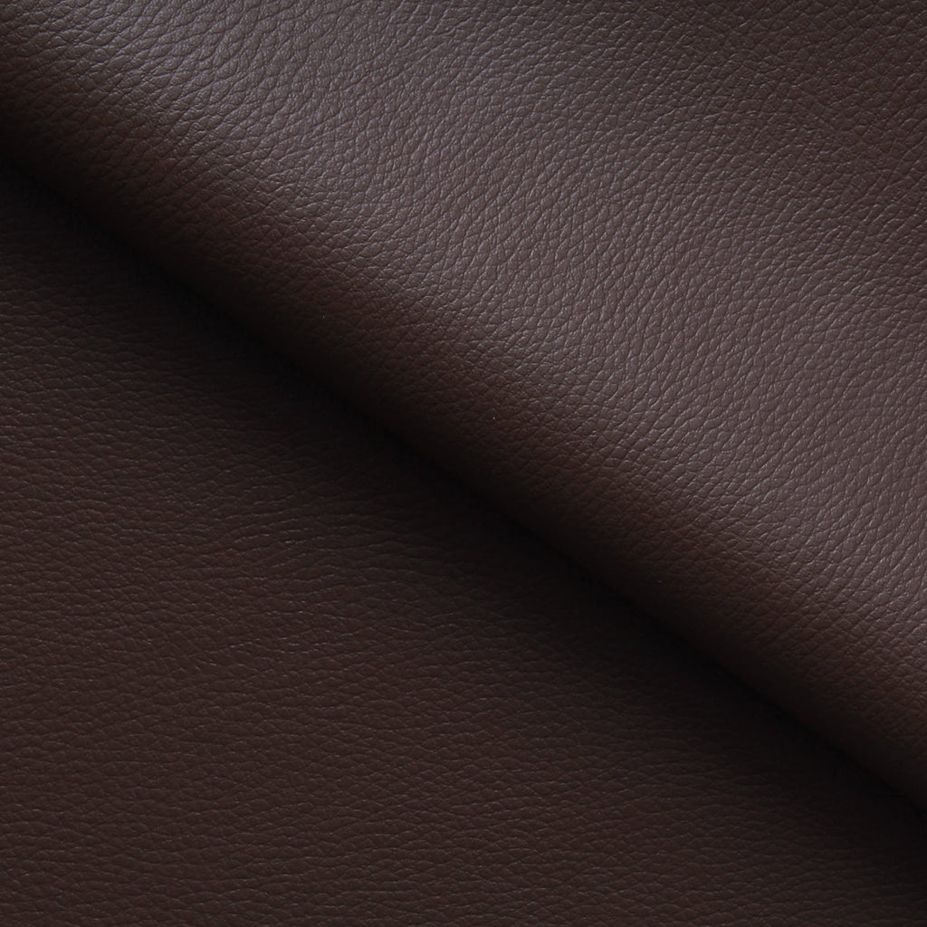 Premium Plain PVC Base Leatherette, 1.20mm Thickness - Coffee (Dark Brown)