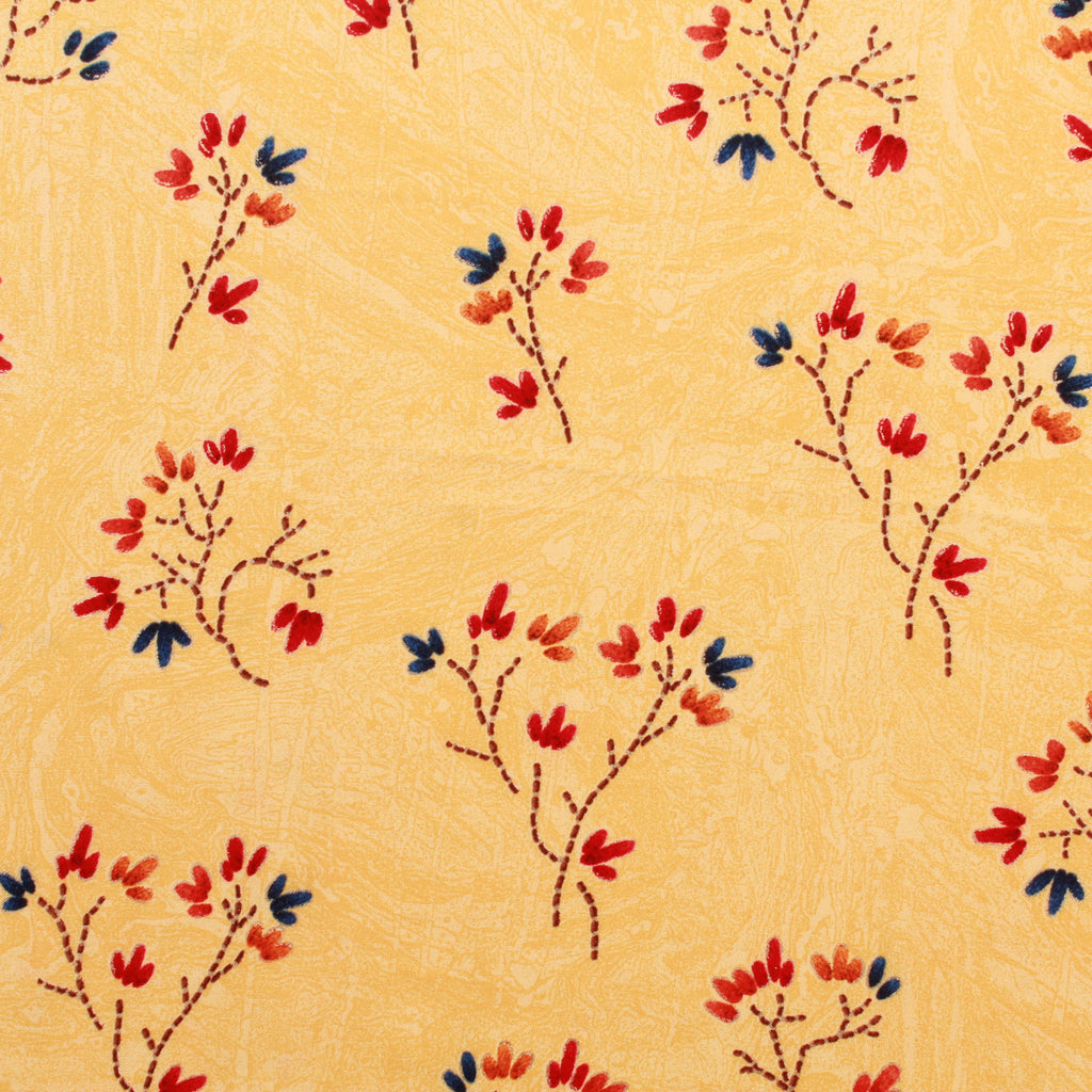 "Rayon Fabric, Autumn Blues, Spring/Summer, 44"" Wide"