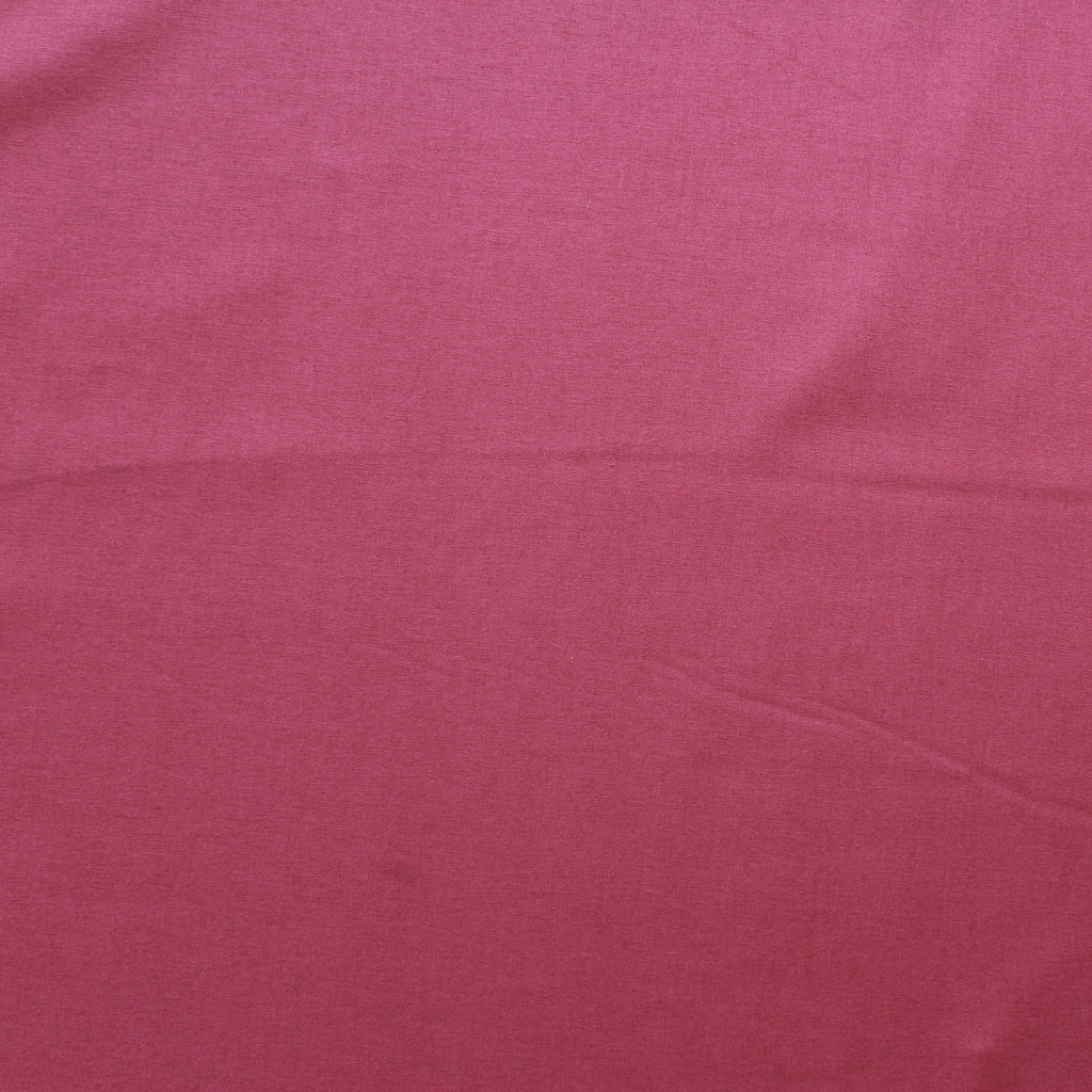 Premium Plain Quilting Cotton, Fabric 112cm Wide Fuschia (Teaberry)