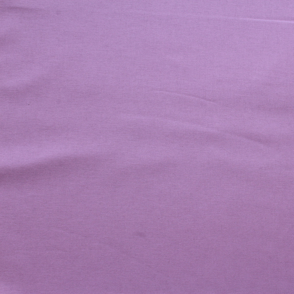 Premium Plain Quilting Cotton, Fabric 112cm Wide Lilac
