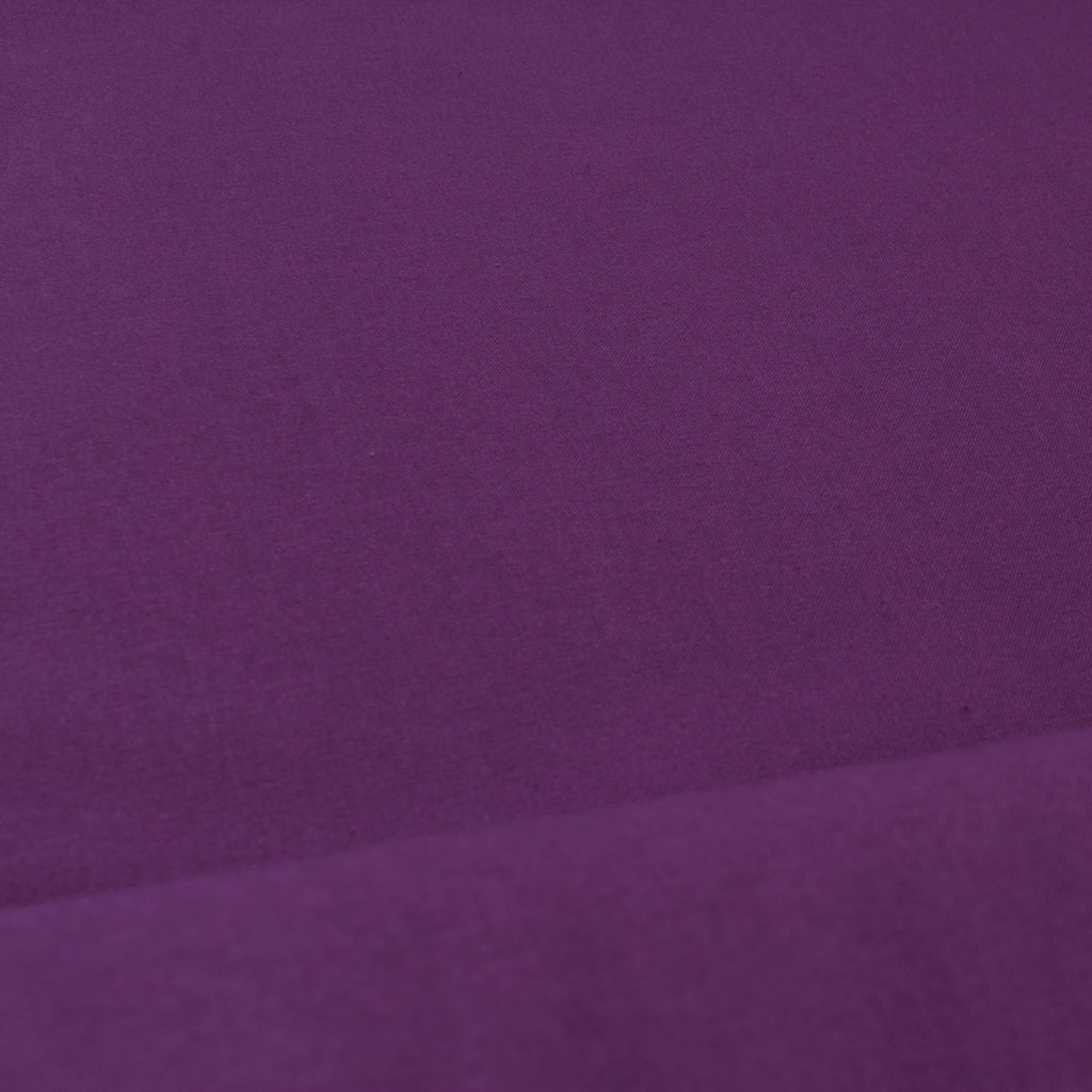 Premium Plain Quilting Cotton, Fabric 112cm Wide Purple (Grape)