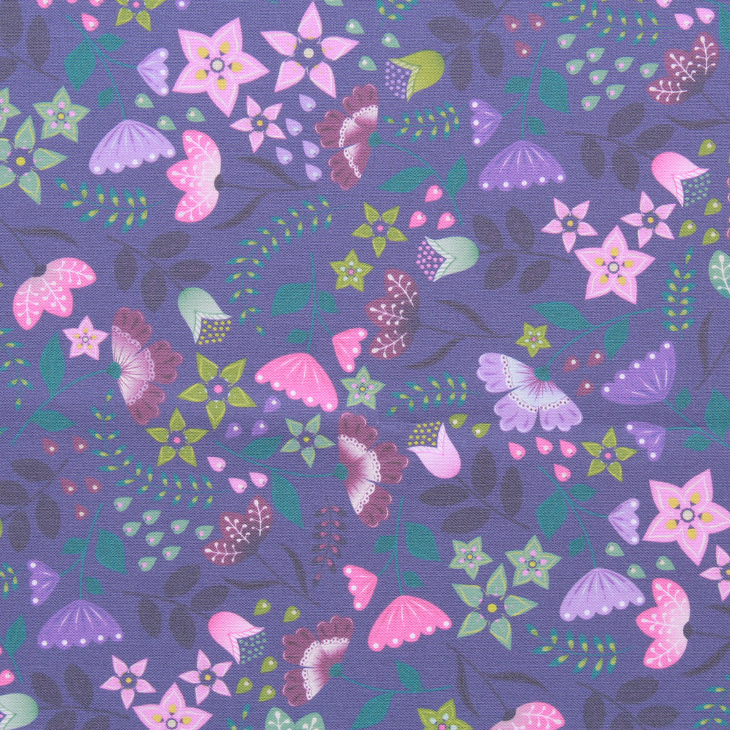 Floral Drop, Boho Garden Premium Quilting Cotton