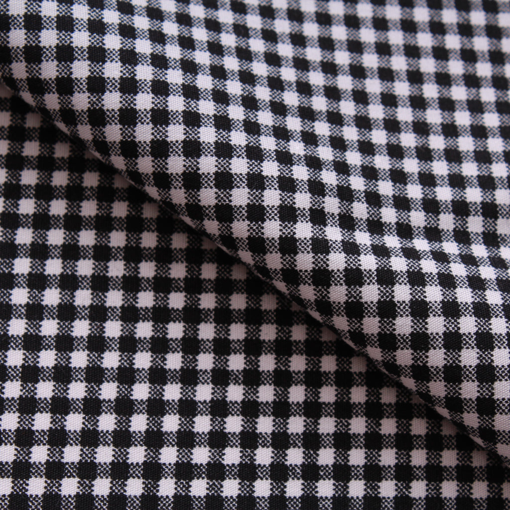 "Gingham 100% Cotton Printed Poplin 44"" Wide (112cm)"