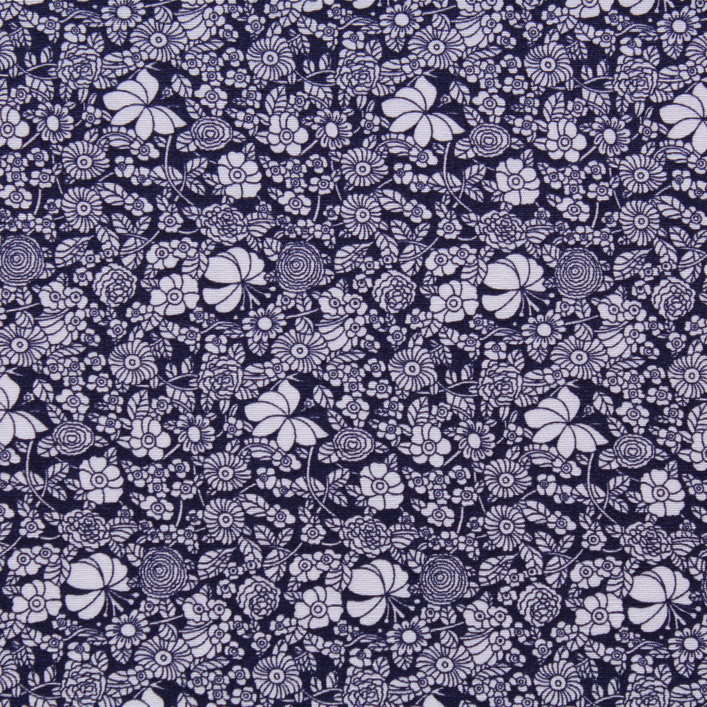 "Floral Printed Poplin, 100% Cotton, Approx. 44"" Wide (112cm)"