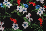 "Tropical Scuba  with Flowers 60"" Wide"