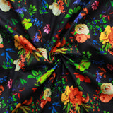 "Digital Print Cotton Floral Vintage Garden 44"" Wide"