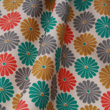 "Multicoloured Flowers Printed Poplin, Approx. 44"" Wide (112cm), Approx. 130GSM"