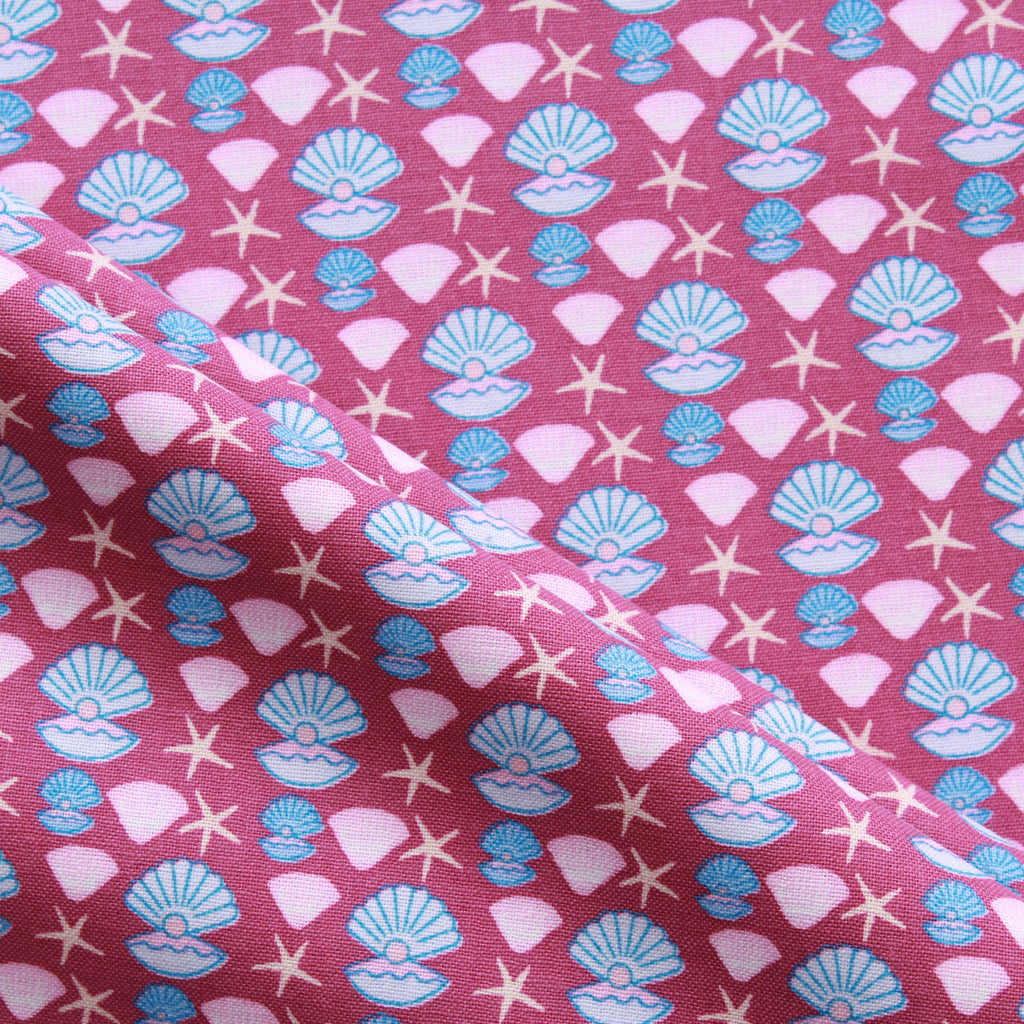 Clams & Shells, Splash Quilting Cotton Collection
