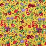 "100% Cotton Lawn, Watercolor Garden, 58"" Wide"