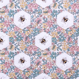 "Beehive Floral, 100% Printed Cotton, 63"" Wide"