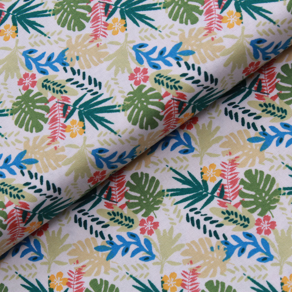 Tropica Leaves Quilting Cotton