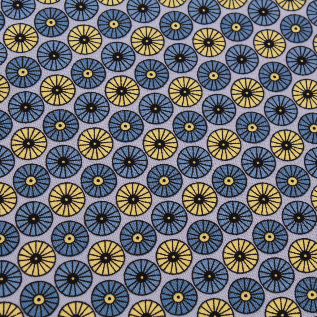 Floral Circles, Scandi Flora Quilting Cotton Collection