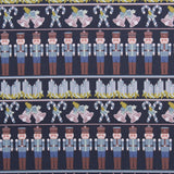 Festive Rows, Nutcracker Quilting Cotton Collection
