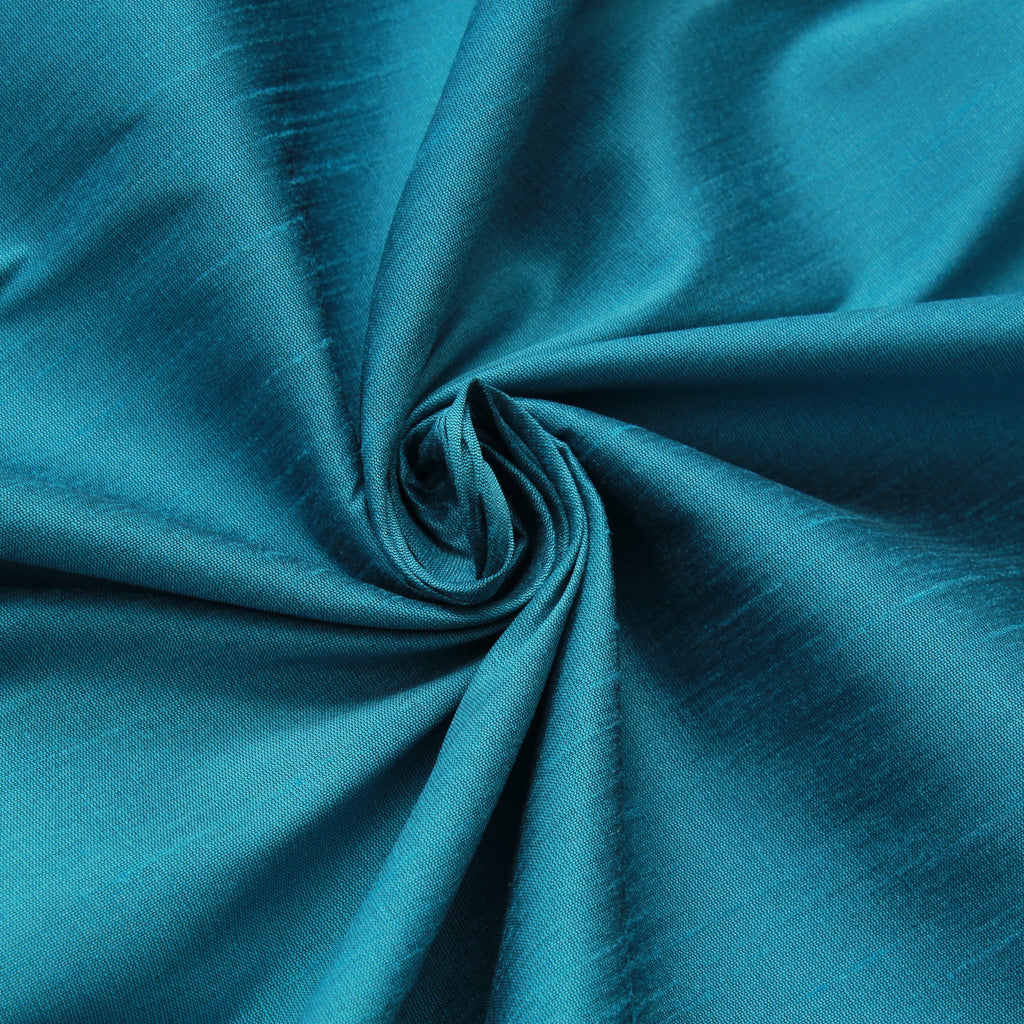 "Premium Plain 100% Polyester Dupion, Approx. 60"" Wide (150cm)"