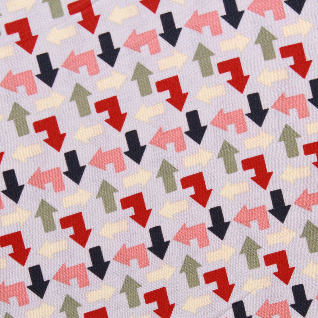 Arrows Themed Quilting Cotton, Zoom Collection
