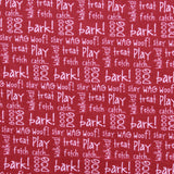 Bark, Play, Catch Quilting Cotton, Dogs Collection
