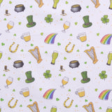 "Celtic Festival,St Patricks Day Quilting Cotton Collection, 100% Premium Quilting Cotton Fabric, 44"" Wide (111cm), 140GSM"