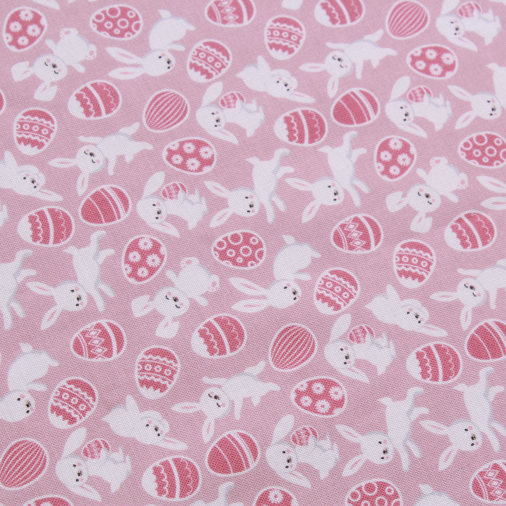 "Jolly Easter Bunny,Eggtastic Easter Quilting Cotton Collection, 100% Premium Quilting Cotton Fabric, 44"" Wide (111cm), 140GSM"