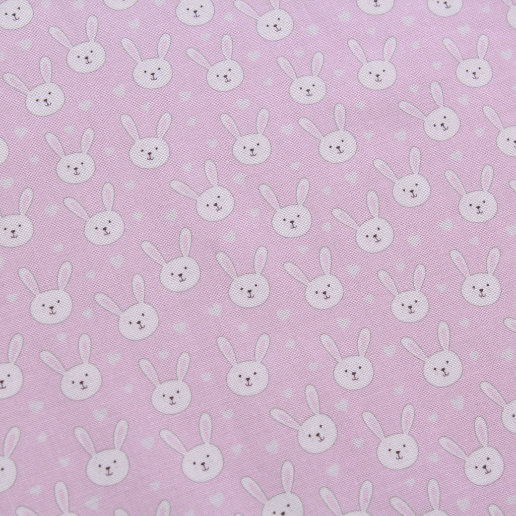 "Bunny Love 2, Eggtastic Easter Quilting Cotton Collection, 100% Premium Quilting Cotton Fabric, 44"" Wide (111cm), 140GSM"