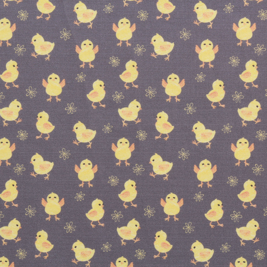 "Tweety Floral Easter, Eggtastic Easter Quilting Cotton Collection, 100% Premium Quilting Cotton Fabric, 44"" Wide (111cm), 140GSM"