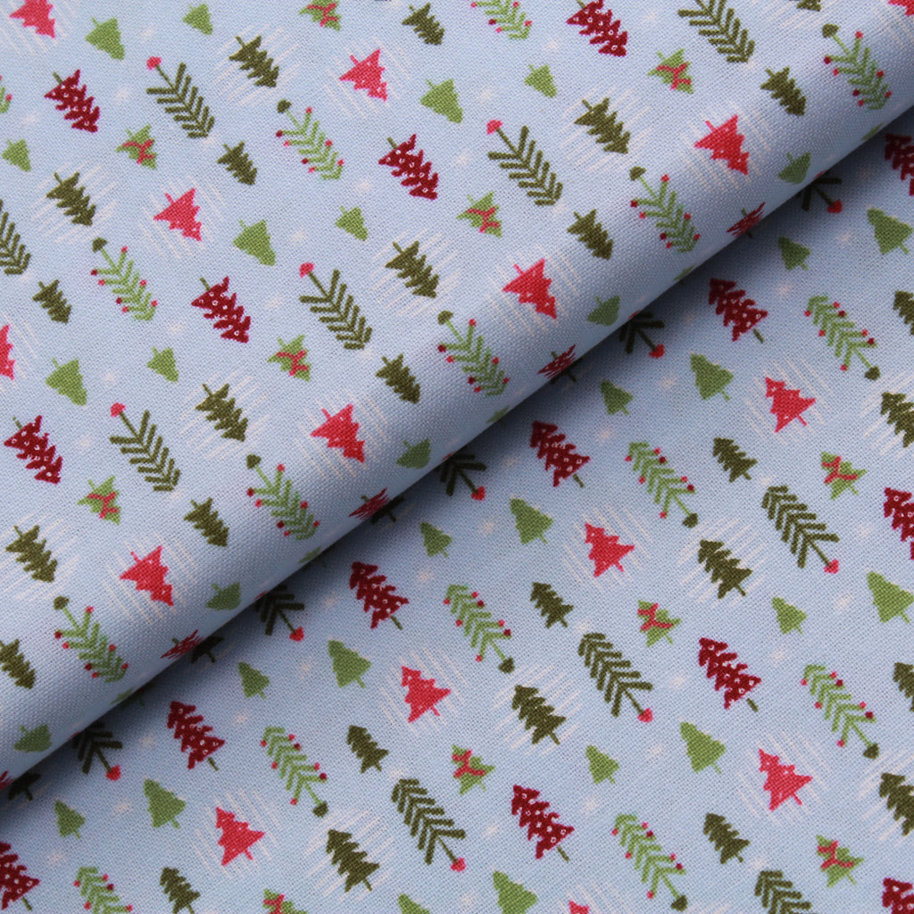 Christmas Trees, Festive Friends Quilting Cotton Collection