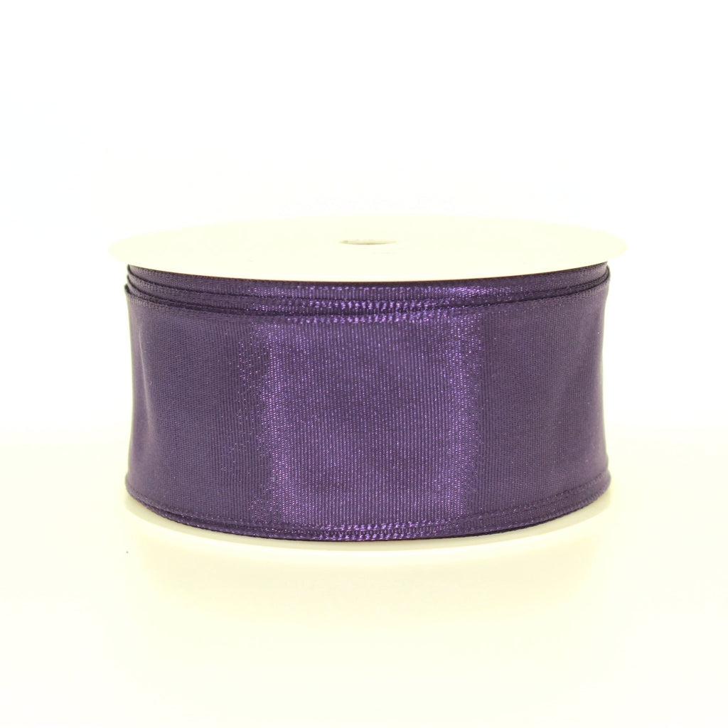 4cm Plain Purple Polyester Lace