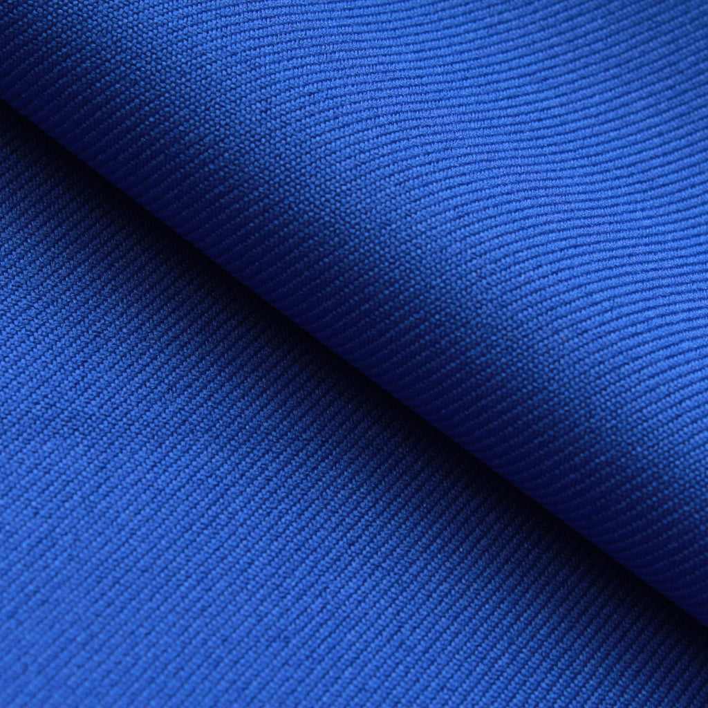 Premium Plain 100% Polyester Twill - Royal