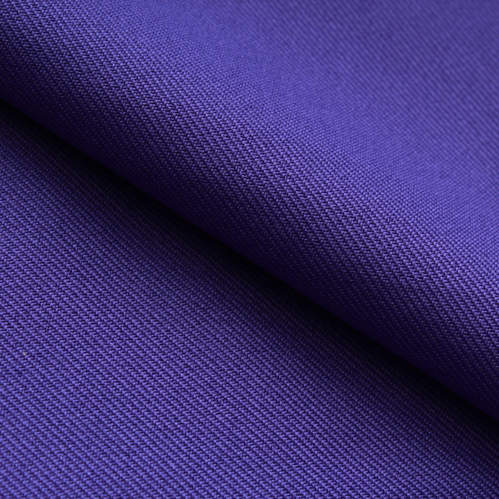 Premium Plain 100% Polyester Twill - Purple