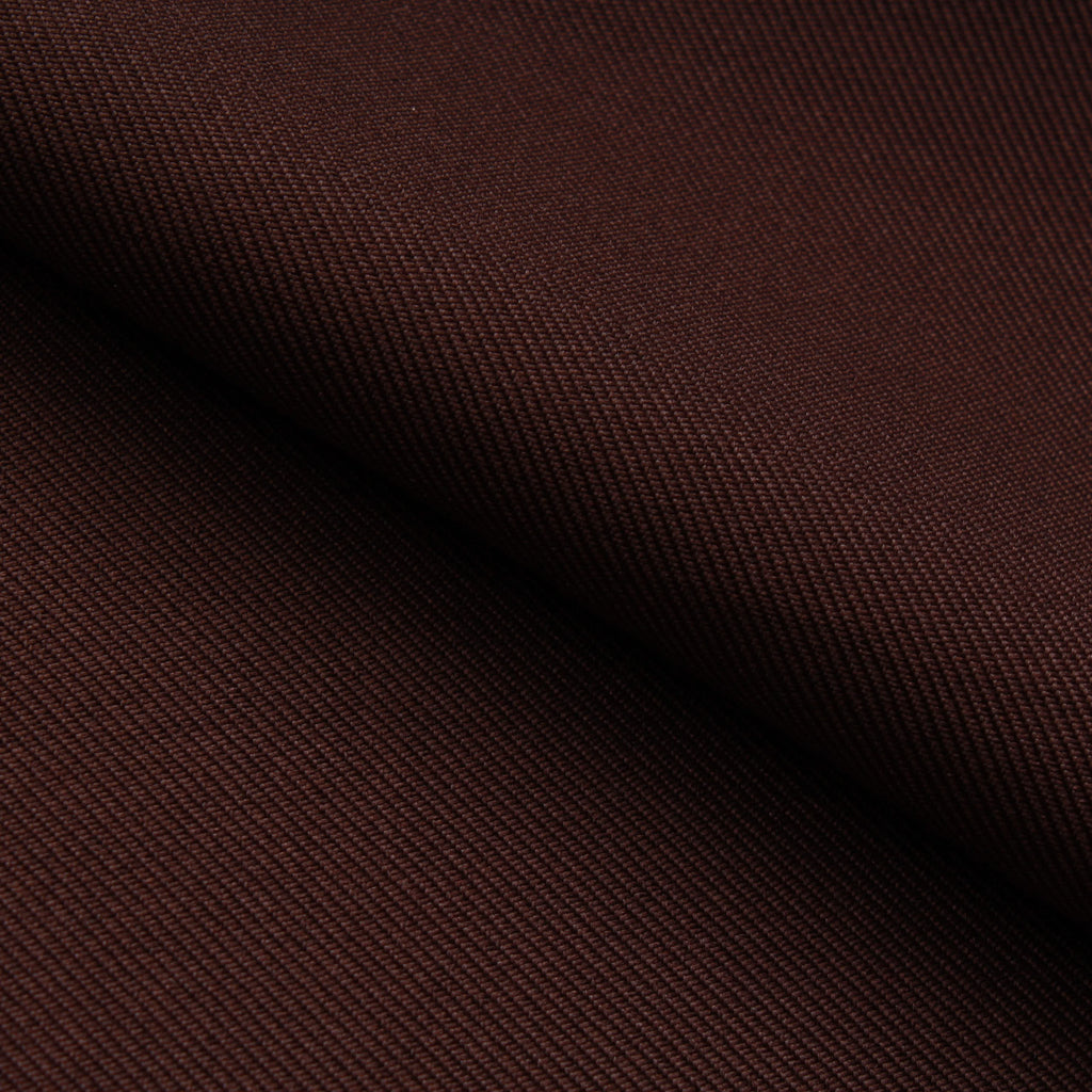 Premium Plain 100% Polyester Twill - Dark Brown