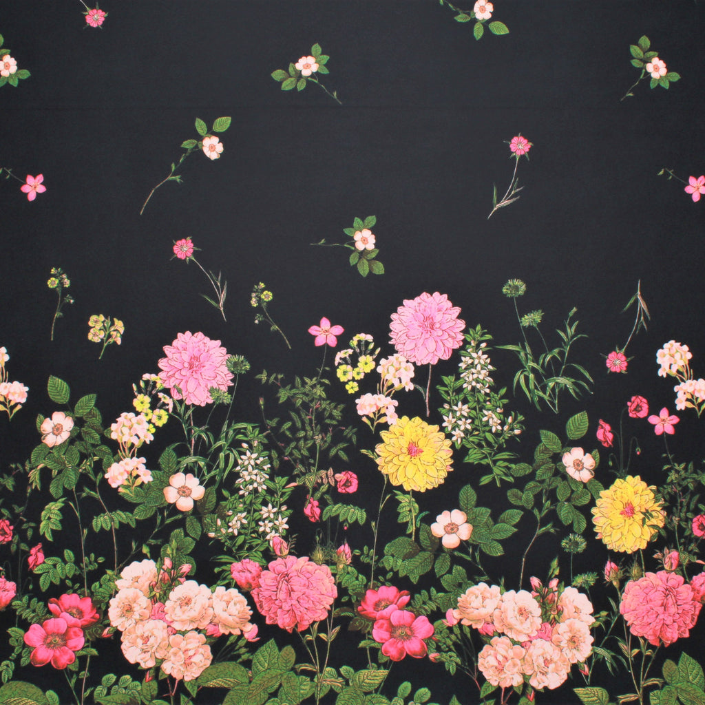 "Flower Bed, 60"" Polyester Fabric"
