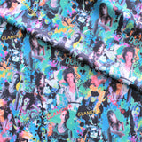 "Glamorous Retro Pop Culture 60"" Polyester Fabric"