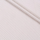 TFG Quilting Cotton, Basic Essentials, Grey Spots on White