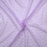 "Spot Organza Fabric (Dark Lilac) Lilac 100% Nylon , 60"" Wide"