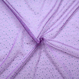 "Spot Organza Fabric Purple 100% Nylon , 60"" Wide"
