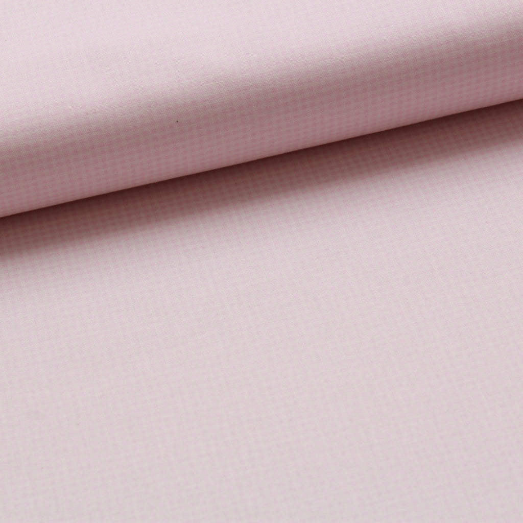 TFG Quilting Cotton, Basic Essentials, Light Pink Checks