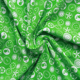Buttons & Bobbins Printed Cotton Jersey - Green